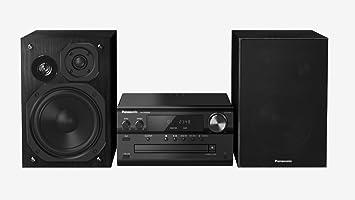 Panasonic SC-PMX82EG-K Home Audio Micro System 120W Negro Sistema de Audio para
