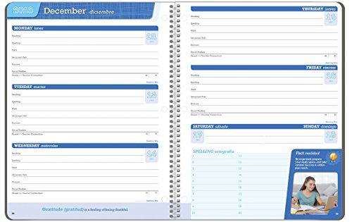 Student Planner 2016 - 2017 School Year Planner Elementary School Content 8.5'' x 11'' by School Datebooks (Image #1)