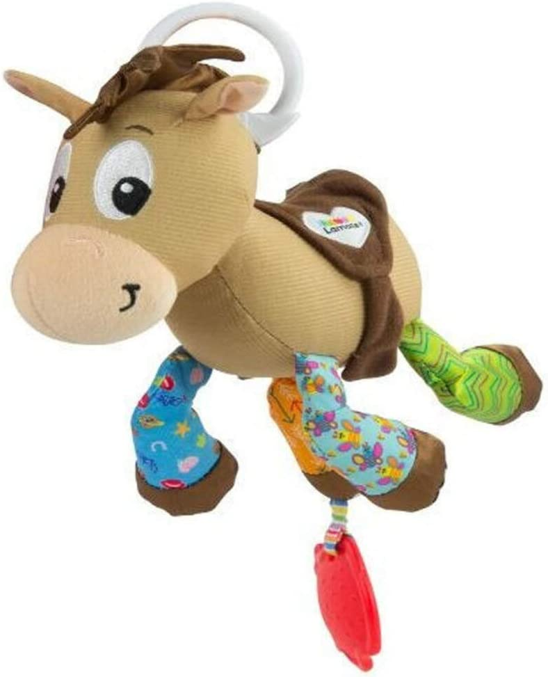 Lamaze Disney Pixar Toy Story Clip and Go Clip On Baby Pram Toy and Pushchair Toy Baby Rattle Newborn Sensory Toy for Babies Boys and Girls From 0-6 Months Rex Baby Toy