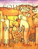 Sources of World History, Kishlansky, Mark A., 0065010353