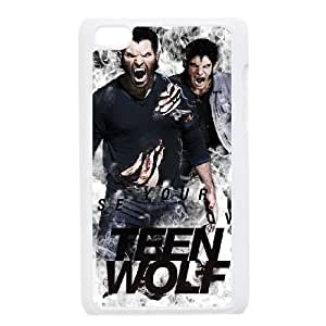 WEUKK Teen Wolf iPod Touch 4 case, customized phone case for iPod Touch 4 Teen Wolf, customized Teen Wolf cover case