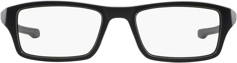 Oakley mens Ox8039 Chamfer Rectangular Prescription Eyeglass Frames