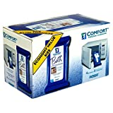 Comfort Bath Value Size! Personal Cleansing, Ultra-Thick Disposable Washcloths, 4 packs of 8