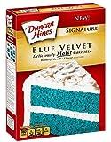 Duncan Hines Signature Blue Velvet Cake Mix - 16.5 oz (Pack of 2)
