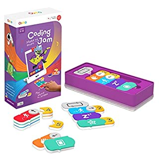 Osmo - Coding Jam - Ages 6-12 - Music Creation, Coding & Problem Solving - For iPad and Fire Tablet (Osmo Base Required) (B06XRW2185) | Amazon price tracker / tracking, Amazon price history charts, Amazon price watches, Amazon price drop alerts