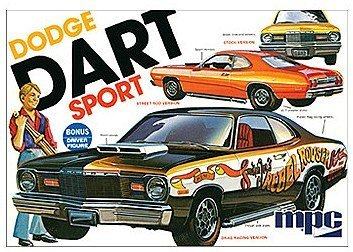 Dodge Model Kit - Model Power 1:25 '75 Dodge Dart Sport