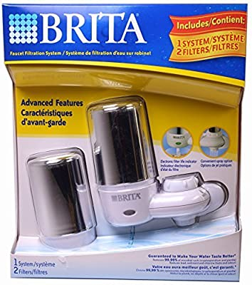 Brita Faucet Filtration System, Includes 1 System, 2 Filters