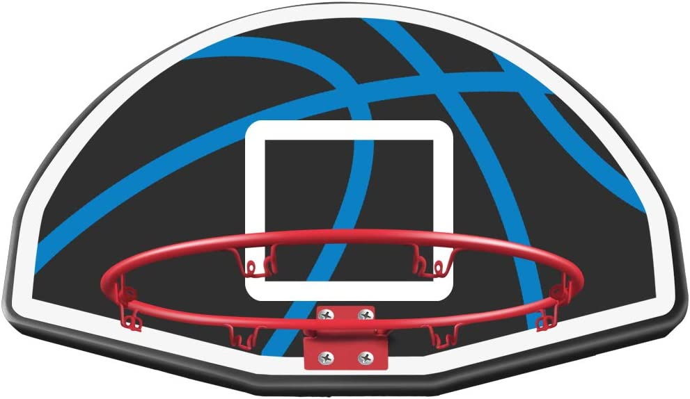 Blanketown 15FT 14FT 12FT 5FT Trampoline with Basketball Hoop,Enclosure Net,Jumping Mat,Spring Pad,Wind Stakes,Pull T-Hook and Ladder-Including All Accessories-Trampoline for Kids