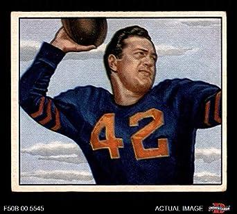 659f7b96c98 1950 Bowman # 27 Sid Luckman Chicago Bears (Football Card) Dean's Cards 3 -