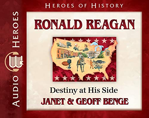 Ronald Reagan Audiobook: Destiny at His Side (Heroes of History) by Emerald Books