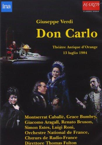 DVD : Giacomo Aragall - Don Carlo (Verdi) (Opera in 4 Acts) (, 2 Disc)