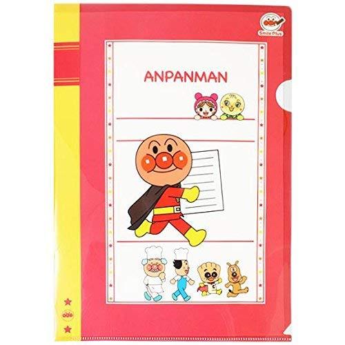 Smiles Folders - Sun-Star Stationery A4 Plastic Folder [Anpanman Smile Plus] (Japan Import)