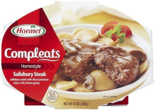 (Hormel Compleats Homestyle Salisbury Steak - 3 of 10 oz by Hormel)