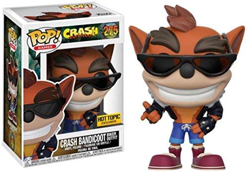 Funko Pop! Games Crash Bandicoot #275 (Biker Outfit)