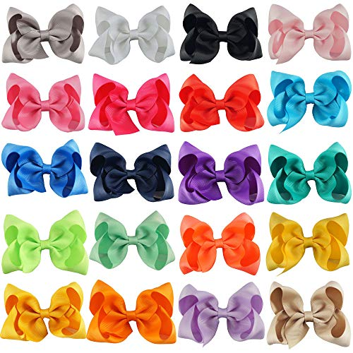- CN Boutique Grosgrain Ribbon Girls Solid 4