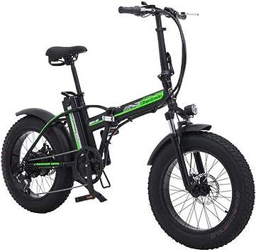 MEICHEN 500w Bicicleta eléctrica eléctrica de 20 Pulgadas ...