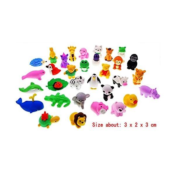 Manyo cancelleria Set di 3 gomme per bambini scuola regali mini gomme da cancellare a forma di telefono cellulare feste assortimento per bambini matite in gomma