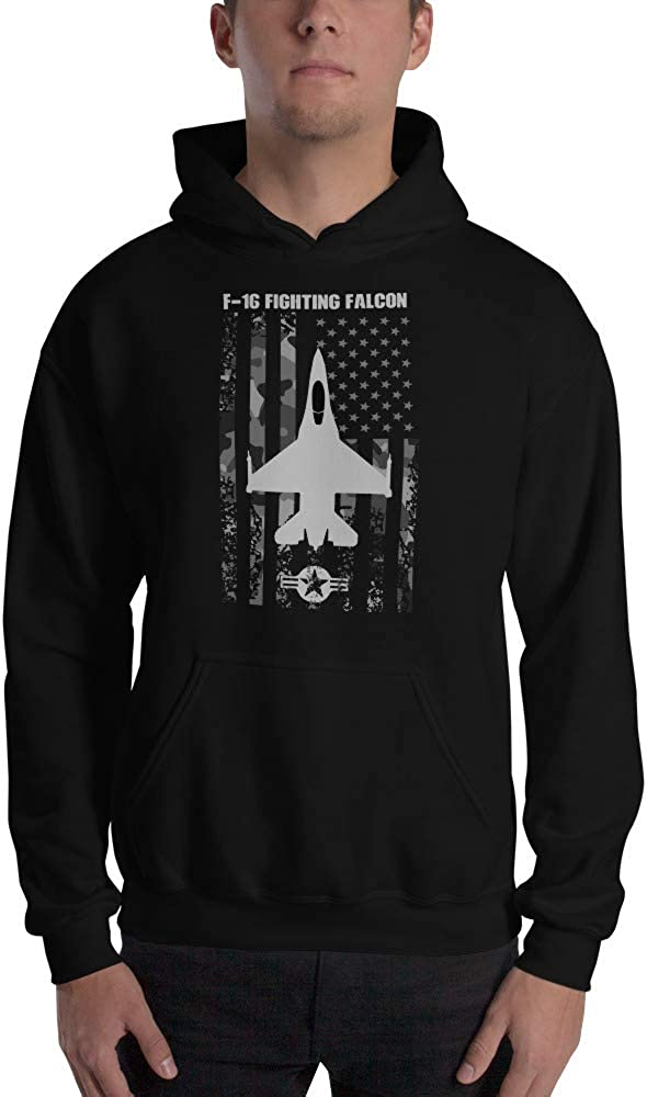 F-16 Fighting Falcon Fighter Jet Unisex Hoodie