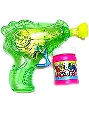 لعبة مسدس الفقاعات للاطفال باضاءة ال اي دي - متعدد الالوان