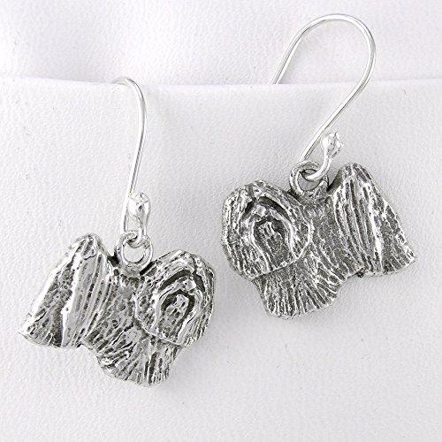Fine Arf Earrings Lhasa Apso