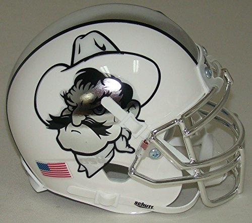 Oklahoma State Cowboys Icy Pistol Pete Alternate Schutt Authentic Mini Helmet