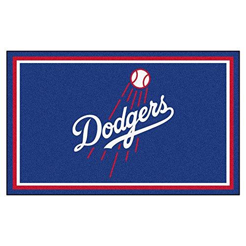 - FANMATS MLB Los Angeles Dodgers Nylon Face 4X6 Plush Rug