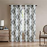 VCNY Home Nola Window Curtains, 76×96, Multi Review