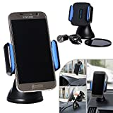 Xtra-Funky Range Wireless Qi In-Car Phone Holder / Desk Top Charger Stand with USB charger adapter and 1 metre Micro-b charging cable for Mobile Phones, PDAs, Sat Navs and more!