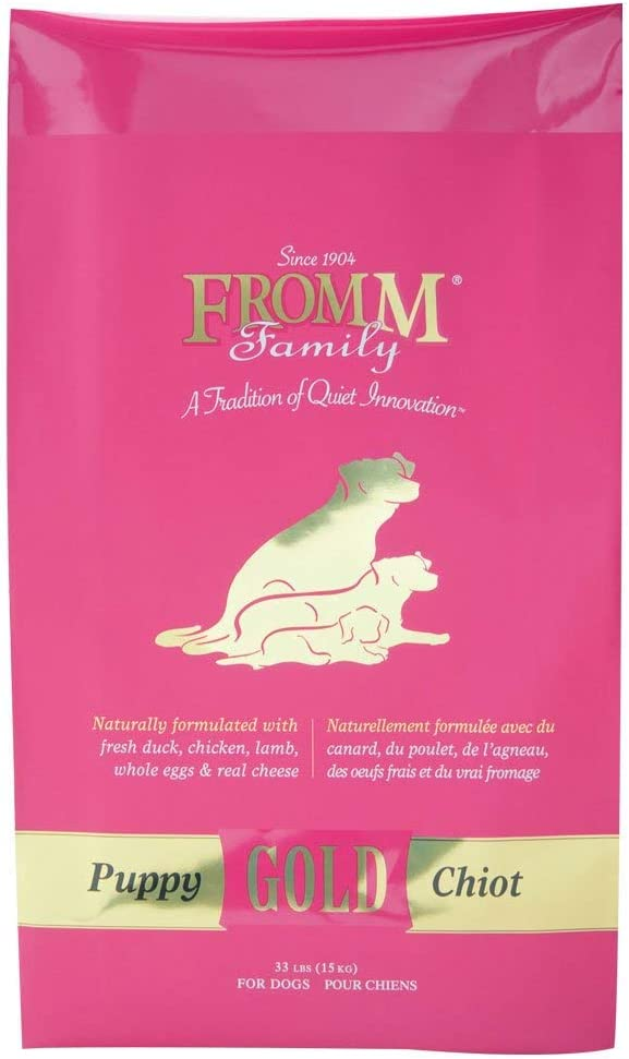 Fromm Family Foods 727552 33 Lb Gold Nutritionals Puppy Dry Dog Food (1 Pack), One Size