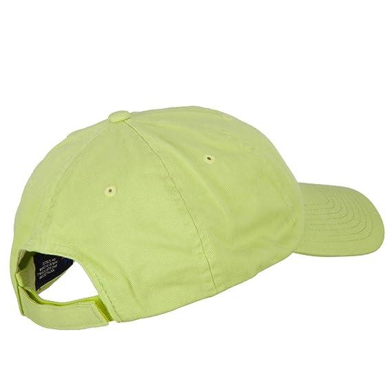 bd0b38ce89b MG Low Profile Dyed Cotton Twill Cap - Apple Green OSFM at Amazon Men s  Clothing store  Baseball Caps