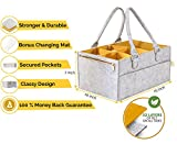 Baby Diaper Caddy and Changing Pad