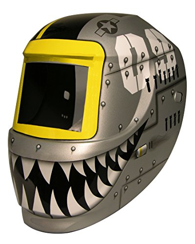 ArcOne 3-0171 Carrera Welding Helmet for 2000T, 1000F, 2500V, 4500V, 5000V, 5500V, 6000V, IDF48 Filters, Fighting Tiger