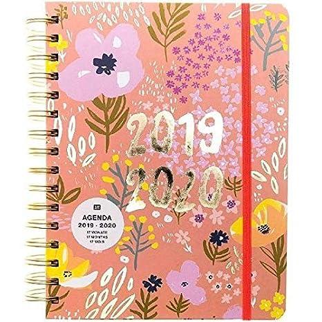 Agenda Rico Design Paper Poetry de agosto de 2019 a ...