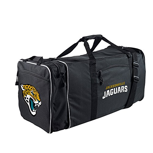 Amirshay, Inc.. Jacksonville Jaguars NFL Steal Duffel Bag (Black) (2-Pack) by Amirshay, Inc.