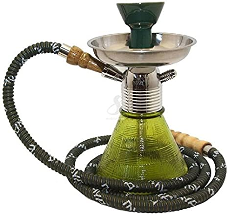 SRS Petite Hookah 9.5in Green at amazon