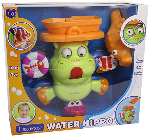 Lexibook Water Hippo Bath Toy