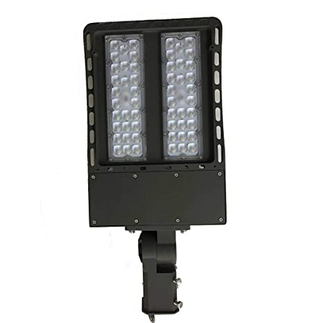ZHIXIANG 1Pcs 200W LED Shoebox Pole Lightt Impermeable Led E27 E40 Bombillas De Luz AC 100
