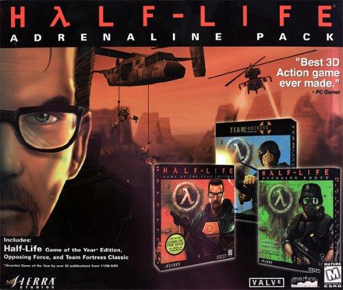 Amazon com: Half-Life: Adrenaline Pack - PC: Video Games