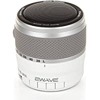 Ewave ES-303L Bluetooth Portable Speaker with FM Radio White
