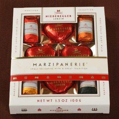 - Niederegger Marzipanerie Gift Box, 3.5 Ounce