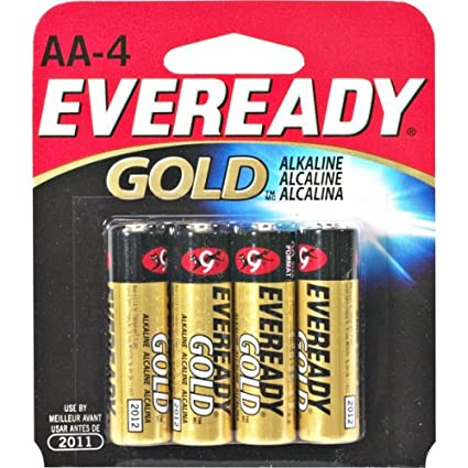 Review ENERGIZER AA4 EVEREADY AA