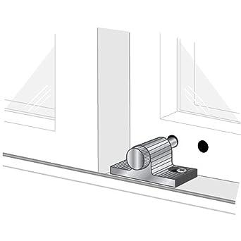Aluminium Finish Pro-Lok Patio Door Lock Lever
