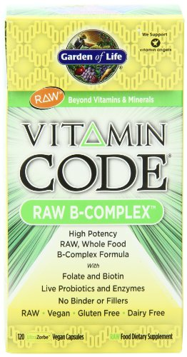 Garden of Life Vitamin Code Raw B-Complex Capsules, 120 Count, Health Care Stuffs