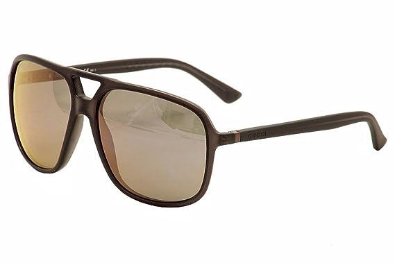 gucci sunglasses 1091 frame dark gray lens gray violet mirror