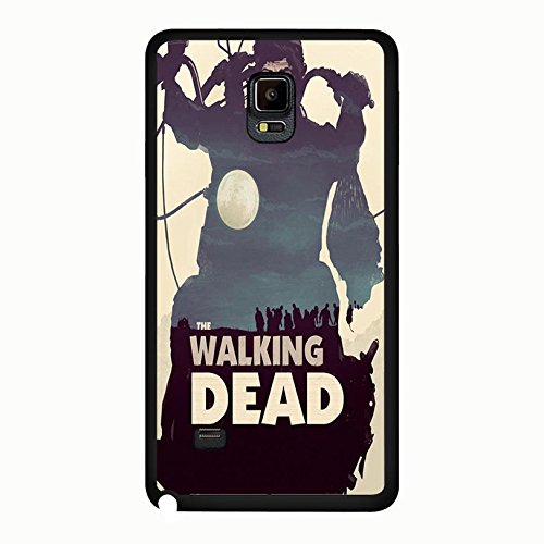 Samsung Galaxy Note 4 Cover Shell Cool Creative Motorbike Horror Zombies TV The Walking Dead Phone Case Cover Hipster Weird