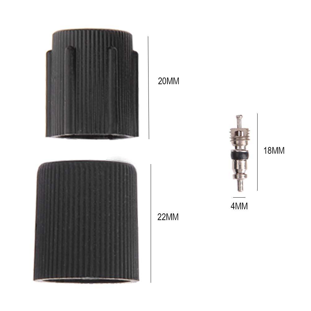 Ahomi R134/A climatizzatore Auto Tappi valvola Core a//c System Service Kit Remover Strumento di rimozione