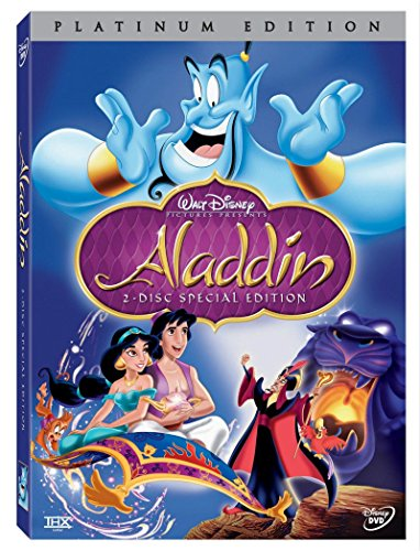 Review Aladdin (Two-Disc Set DVD, Special Edition,2004) English/French/Spanish