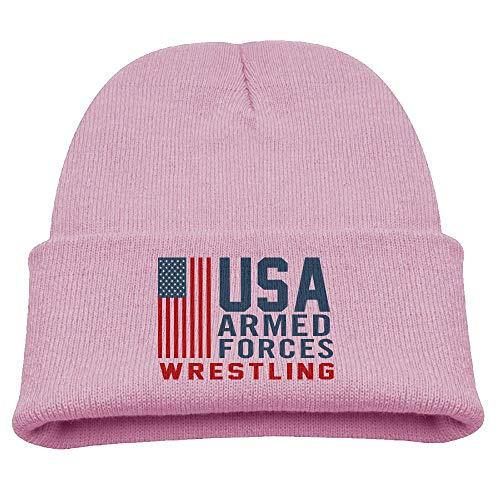 Banana King USA Wrestling Baby Beanie Hat Toddler Winter Warm Knit Woolen Cap for Boys/Girls