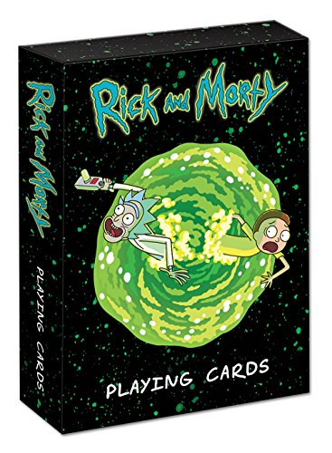 (USAOPOLY Playing Cards: Rick & Morty Cards, Multicolor)