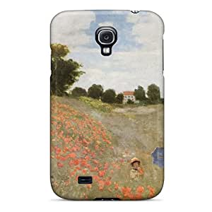 Tough Galaxy XyEUfkT3354avDnL Case Cover/ Case For Galaxy S4(poppies Blooming By Monet)